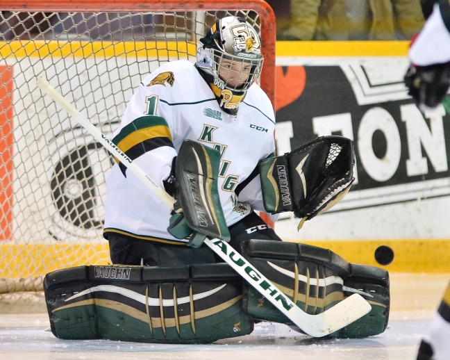 Tyler Parsons of the London Knights. Photo by Terry Wilson/OHL Images.