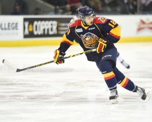 Alex DeBrincat of the Erie Otters. Photo by Aaron Bel/OHL Images