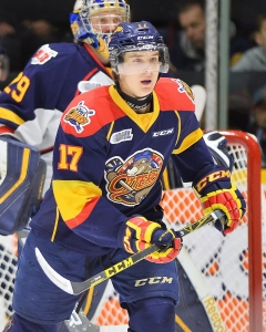 Taylor Raddysh of the Erie Otters. Photo by Terry Wilson / OHL Images.
