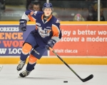 Vili Saarijarvi of Flint Firebirds. Photo by Aaron Bell/OHL Images