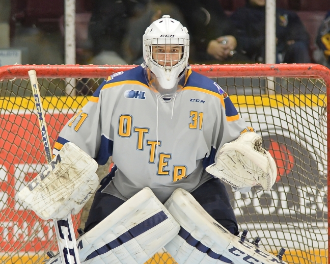 Devin Williams of the Erie Otters. Photo by Terry Wilson / OHL Images.
