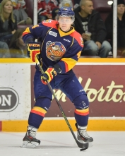 Travis Dermott of the Erie Otters. Photo by Terry Wilson / OHL Images.