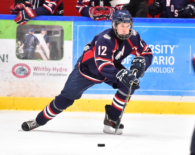 Owen Lalonde of the Windsor Jr. Spitfires. Photo by Aaron Bell/OHL Images