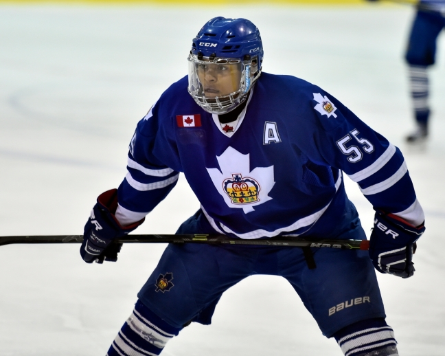 Akil Thomas of the Toronto Marlies. Photo by Aaron Bell/OHL Images