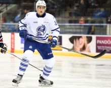 Nicolas Hague of the Mississauga Steelheads. Photo by Aaron Bell/OHL Images