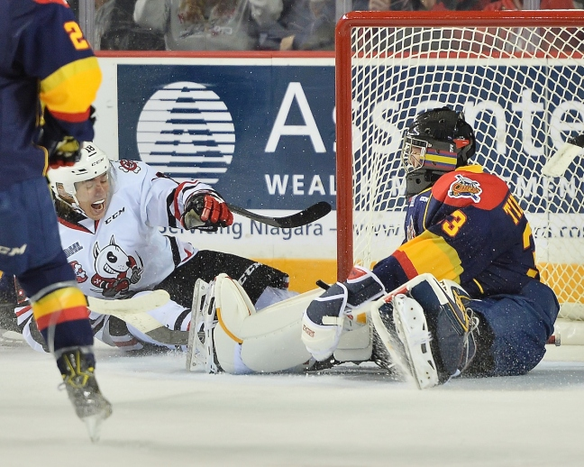 Troy Timpano of the Erie Otters. Photo by Terry Wilson / OHL Images.