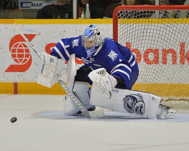 Jacob Ingham of the Mississauga Steelheads. Photo by Terry Wilson / OHL Images.