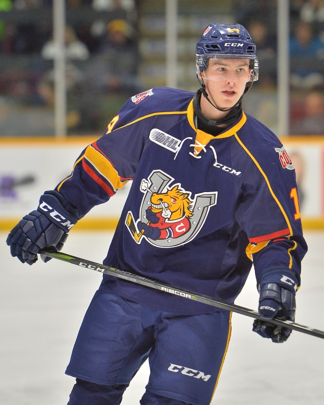 Andrei Svechnikovof the Barrie Colts. Photo by Terry Wilson   OHL Images. 2cbfceae5