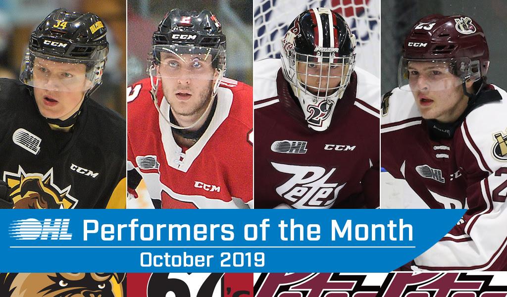 Top Performers October