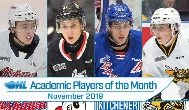 Academic players for November
