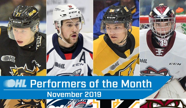 performers of the month for november