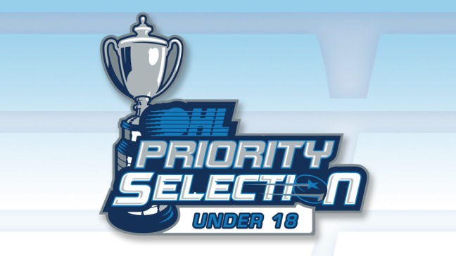 Under 18 Priority Selection 2
